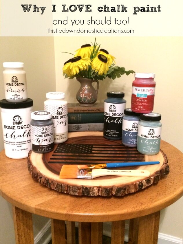 Why I LOVE chalk paint and you should too!