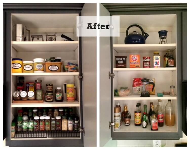 The Solution to the Cabinet Chaos in My Kitchen – Part Two