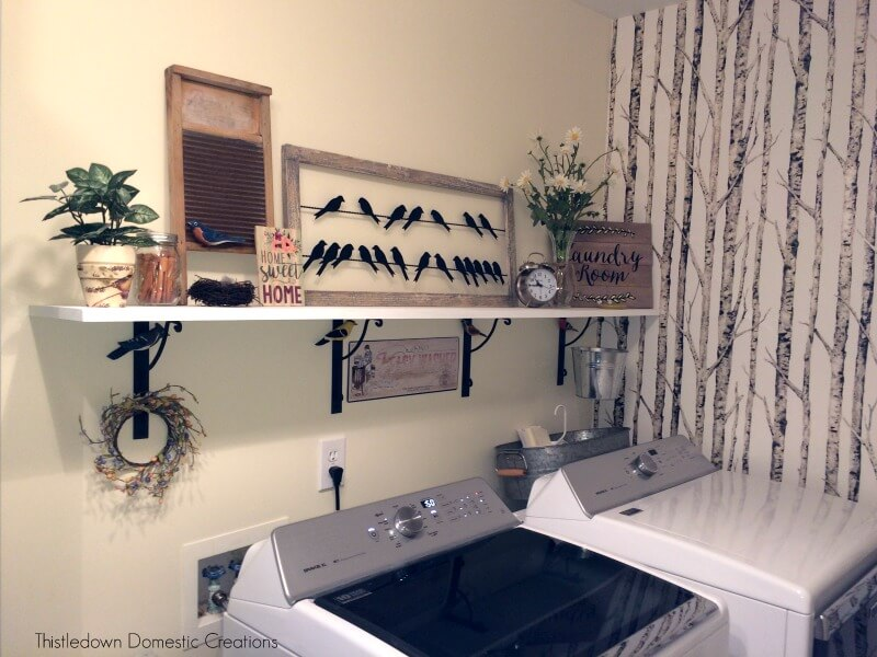 A Much Needed Laundry Room Update