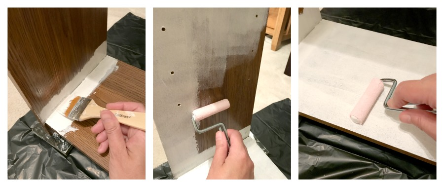 How to apply the paint.