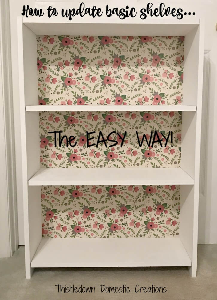 How to Update Basic Shelves