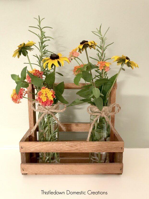 How To Create A Farmhouse Style Vase
