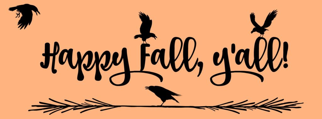 Fall Crows - Happy Fall