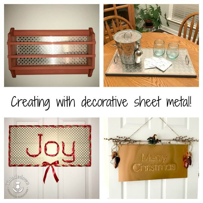 Creating with Decorative Sheet Metal