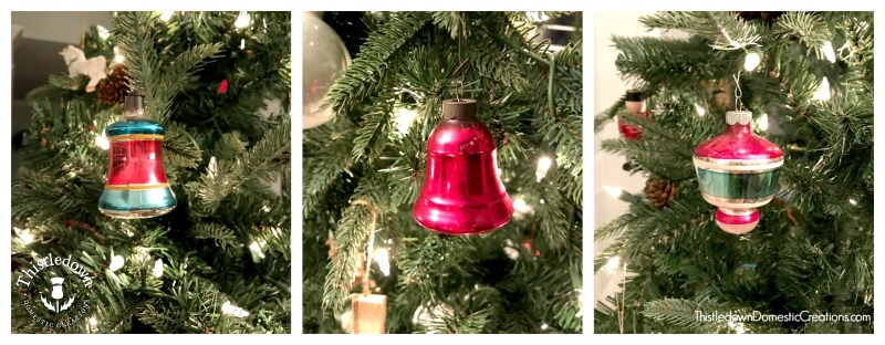 Old Fashioned Glass Ornaments