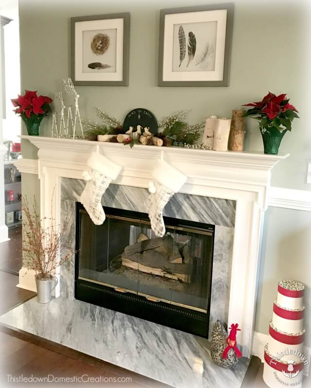 Old Fashioned Kitchen Mantel